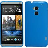 Silicone Case for HTC One Max matt blue
