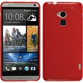 Silicone Case for HTC One Max matt red