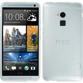 Silicone Case for HTC One Max transparent white