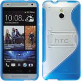 Silicone Case for HTC One Mini  blue