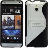 Silicone Case for HTC One Mini  black