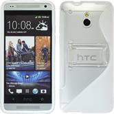 Silicone Case for HTC One Mini  white