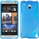Silicone Case for HTC One Mini S-Style blue