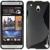 Silicone Case for HTC One Mini S-Style black