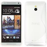 Silicone Case for HTC One Mini S-Style transparent