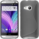 Silicone Case for HTC One Mini 2 S-Style gray