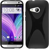 Silicone Case for HTC One Mini 2 X-Style black