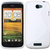 Silicone Case for HTC One S S-Style white