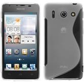 Silicone Case for Huawei Ascend G510 S-Style transparent