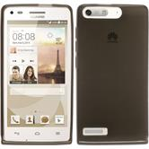 Silicone Case for Huawei Ascend G6 transparent black