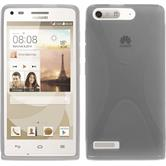 Silicone Case for Huawei Ascend G6 X-Style gray