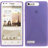 Silicone Case for Huawei Ascend G6 X-Style purple