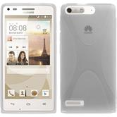 Silicone Case for Huawei Ascend G6 X-Style transparent