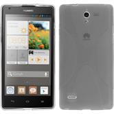 Silicone Case for Huawei Ascend G700 X-Style gray