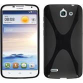 Silicone Case for Huawei Ascend G730 X-Style black