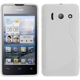 Silicone Case for Huawei Ascend Y300 S-Style white