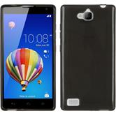 Silicone Case for Huawei Honor 3C transparent black