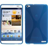 Silicone Case for Huawei MediaPad X1 X-Style blue