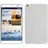 Silicone Case for Huawei MediaPad X1 X-Style white