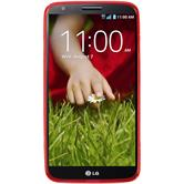 Silicone Case for LG G2 S-Style red