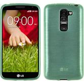 Silicone Case for LG G2 mini brushed green