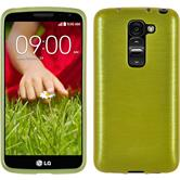Silicone Case for LG G2 mini brushed pastel green