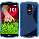 Silicone Case for LG G2 mini S-Style blue