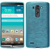 Silicone Case for LG G3 brushed blue