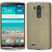 Silicone Case for LG G3 brushed gold