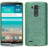 Silicone Case for LG G3 brushed green