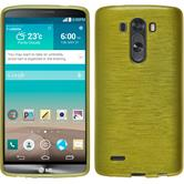 Silicone Case for LG G3 brushed pastel green