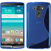 Silicone Case for LG G3 S-Style blue