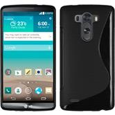 Silicone Case for LG G3 S-Style black