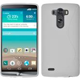 Silicone Case for LG G3 S-Style white