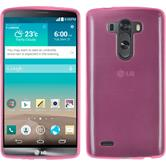 Silicone Case for LG G3 transparent pink