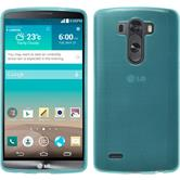 Silicone Case for LG G3 transparent turquoise