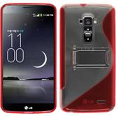 Silicone Case for LG G Flex  red