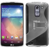 Silicone Case for LG G Pro 2  transparent