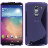 Silicone Case for LG G Pro 2 S-Style purple