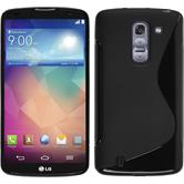 Silicone Case for LG G Pro 2 S-Style black