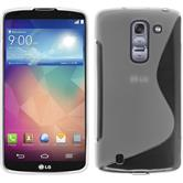 Silicone Case for LG G Pro 2 S-Style transparent