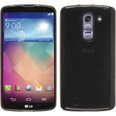 Silicone Case for LG G Pro 2 transparent black