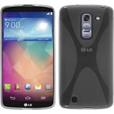 Silicone Case for LG G Pro 2 X-Style gray