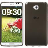 Silikonhülle für LG G Pro Lite transparent schwarz