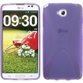 Silicone Case for LG G Pro Lite X-Style purple