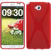 Silicone Case for LG G Pro Lite X-Style red