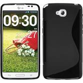 Silikon Hülle G Pro Lite Dual S-Style schwarz