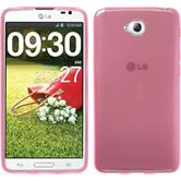 Silicone Case for LG G Pro Lite Dual transparent pink