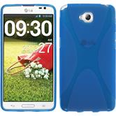 Silicone Case for LG G Pro Lite Dual X-Style blue