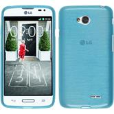 Silicone Case for LG L70 brushed blue
